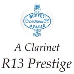 画像1: Buffet Crampon/Aクラリネット/R13 Prestige