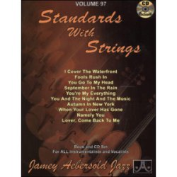 画像1: Jamey Aebersold/Vol.97/STANDARDS WITH STRING