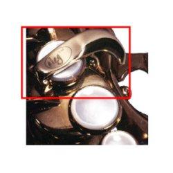 画像1: Oleg/F-Forkエクステンション/アルトサックス用、テナーサックス用/Selmer Mark6用